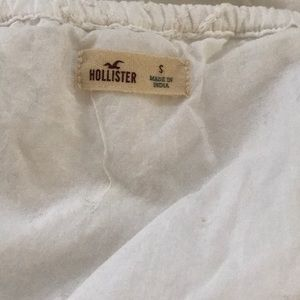 Hollister Dresses - Hollister cotton white dress